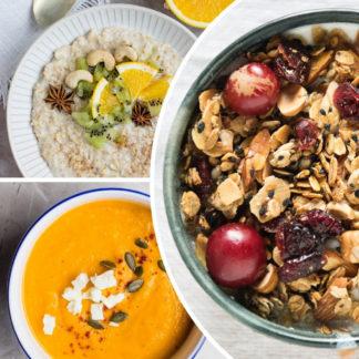 Каши, супы, готовые завтраки